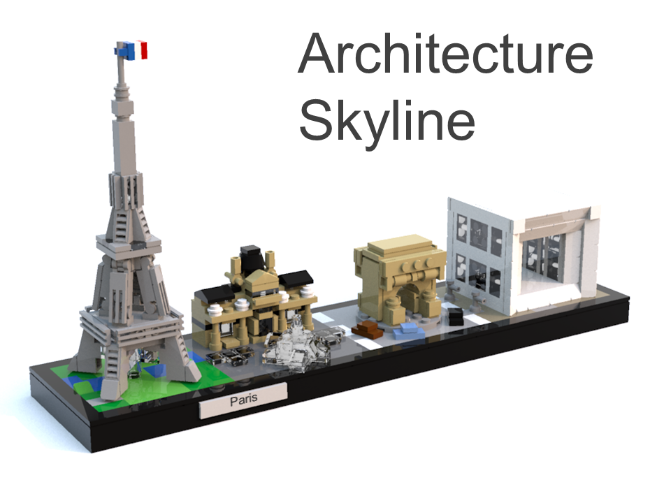 Extending lego architecture custom skylines brick brains for Architecture lego
