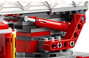 Closeup of 60107 ladder