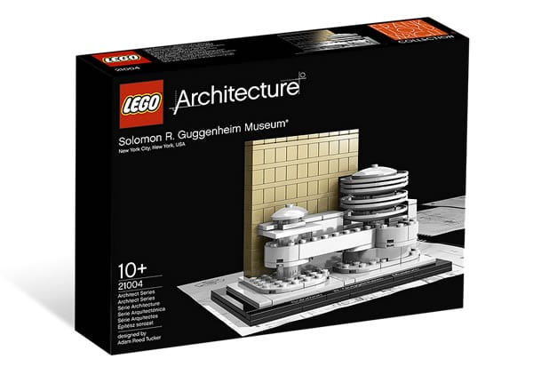 LEGO Guggenheim Museum from 2009
