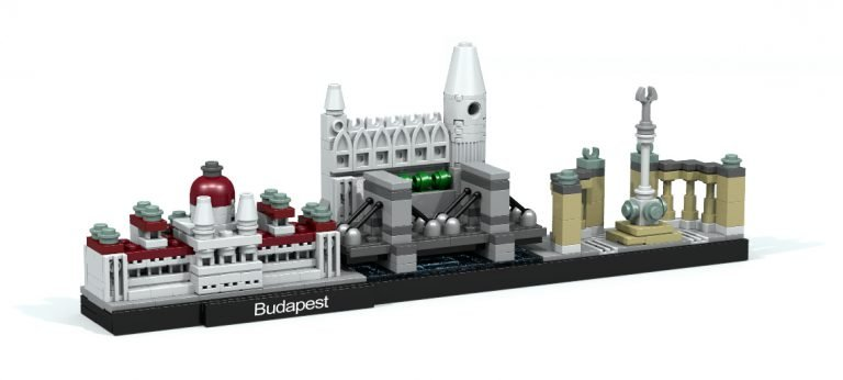 Extending LEGO Architecture – Custom Skylines