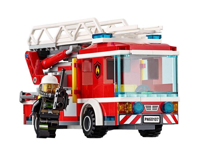 LEGO City Fire Ladder Truck – 60107