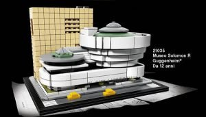 LEGO Guggenheim Museum from 2017