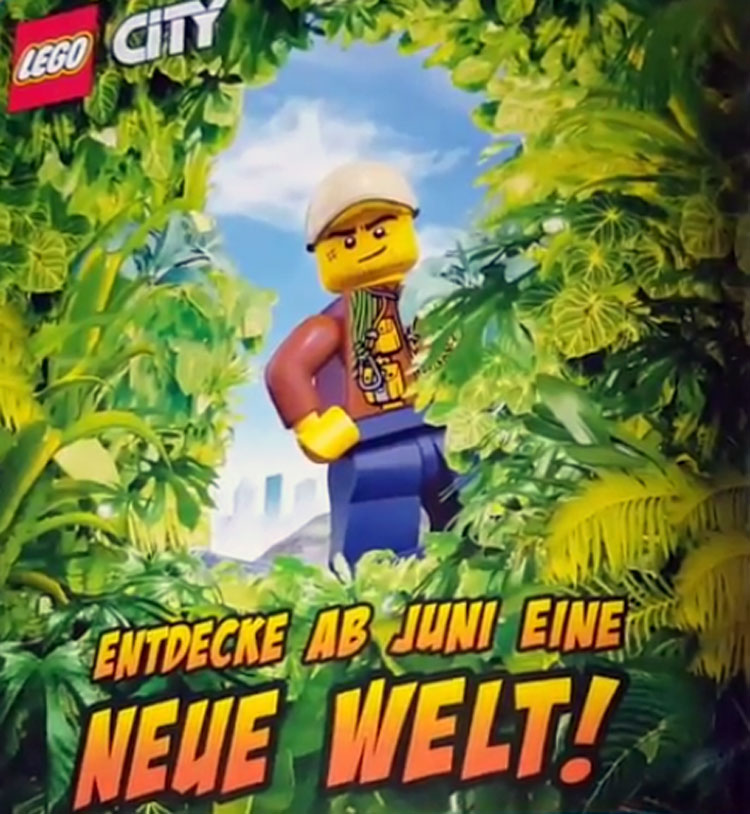 LEGO Jungle Explorers Sets Coming in June?