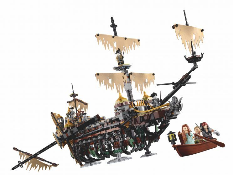 LEGO Pirates of the Caribbean 'The Silent Mary' debuts at New York Toy Fair