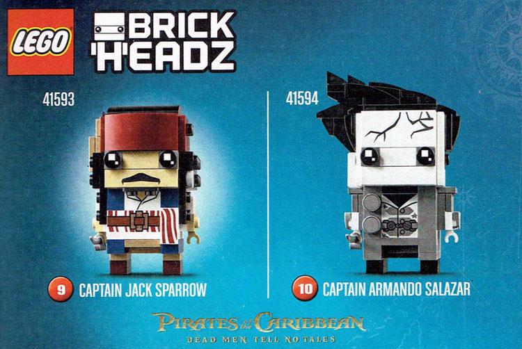 Final 2 BrickHeadz Officially Shown!