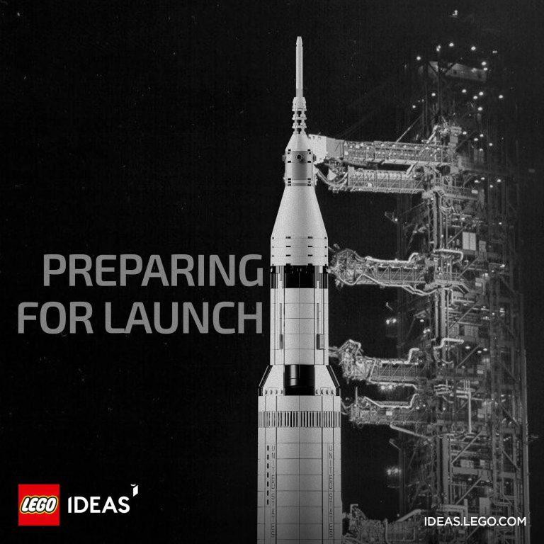 LEGO Launches Saturn V Rocket This June!
