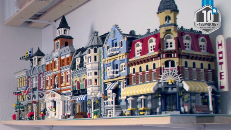 10 Years of Modular Buildings Honored in Video by LEGO