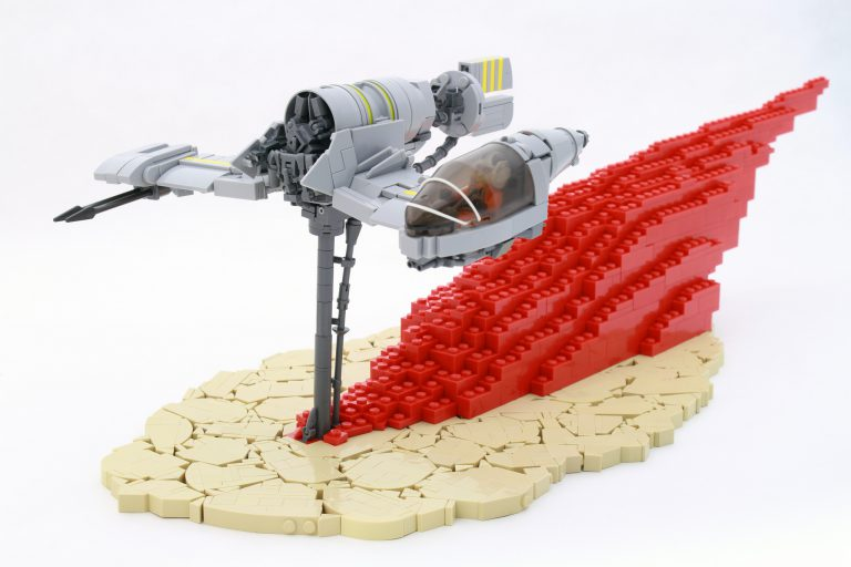 Resistance Skimmer from Star Wars: The Last Jedi