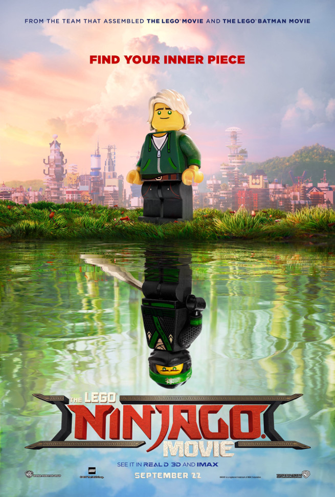 LEGO NINJAGO Movie Set – part count details