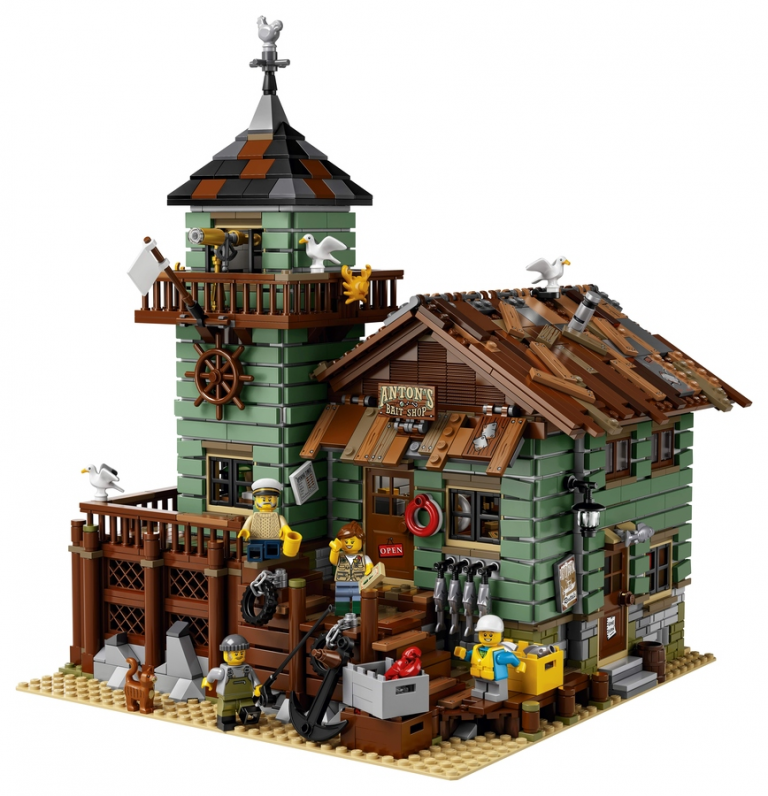 LEGO Ideas – Get Hooked on the Old Fishing Store (21310)