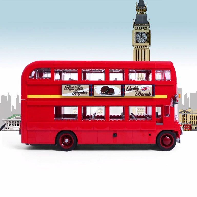 London Bus Speed Build