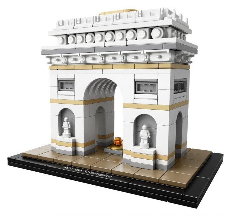 LEGO Architecture Arc de Triomphe Official Photos