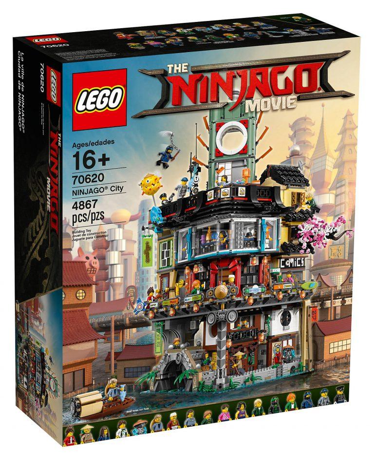 NINJAGO City set revealed