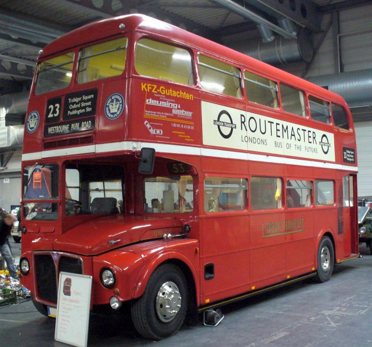 Is a Double Decker Bus coming soon?