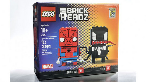 Spider-Man and Venom BrickHeadz – 2017 Comic Con exclusive