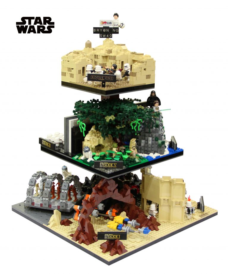 All your Star Wars in One Giant MOC
