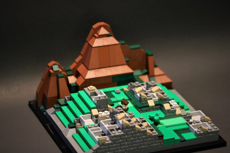 Microscale Incan City of Machu Picchu