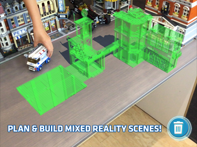 LEGO Releasing Augmented Reality App to interact with sets