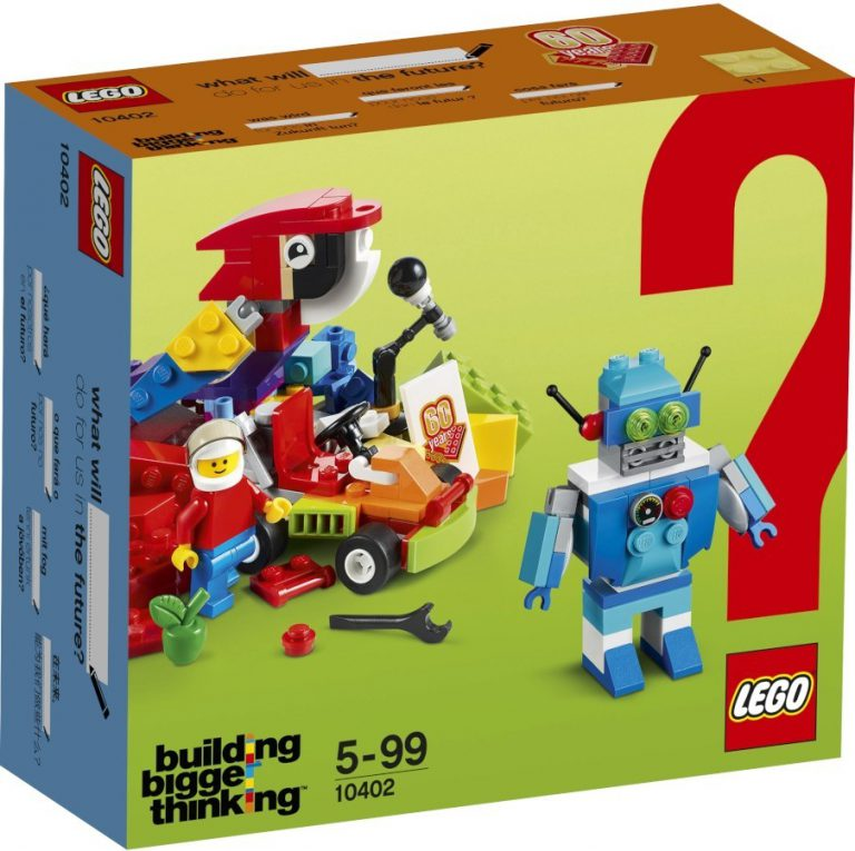 5 New Building Bigger Thinking 60th Anniversary Sets appear in photos
