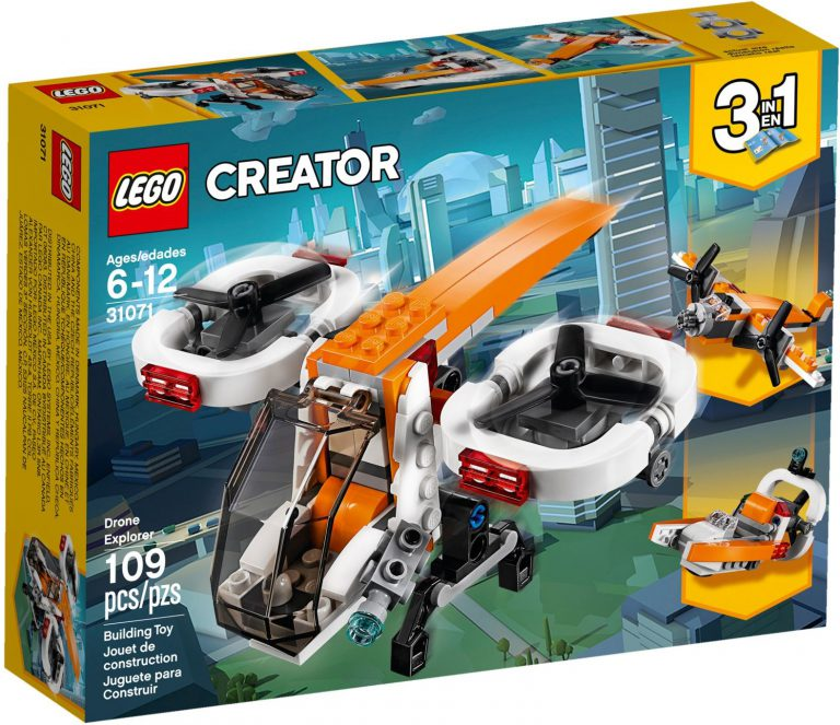 Photos from 2018 LEGO CREATOR sets