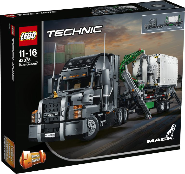 4 More 2018 TECHNIC Sets Revealed in Photos