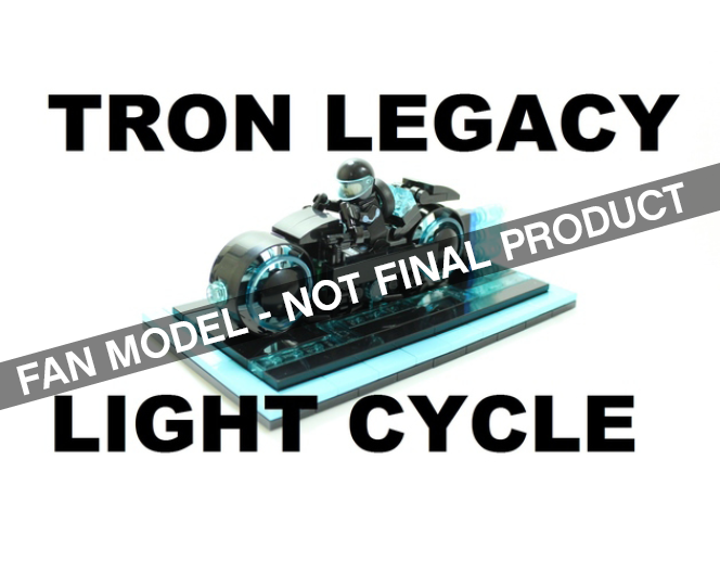 Tron Legacy Light Cycle Passes IDEAS Review!