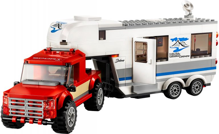 Pictures of 7 LEGO City 2018 sets unveiled
