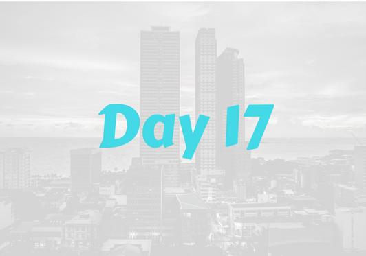 2017 City Advent Calendar – Day 17