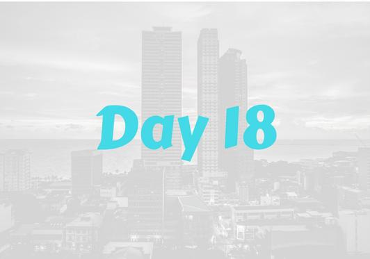 2017 City Advent Calendar – Day 18