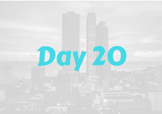 2017 City Advent Calendar – Day 20