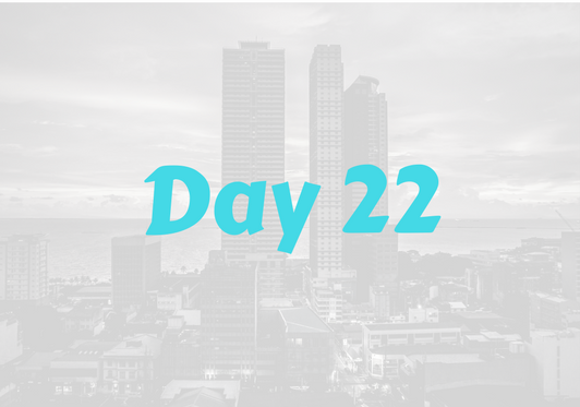 2017 City Advent Calendar – Day 22