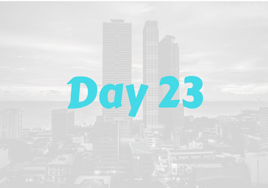 2017 City Advent Calendar – Day 23