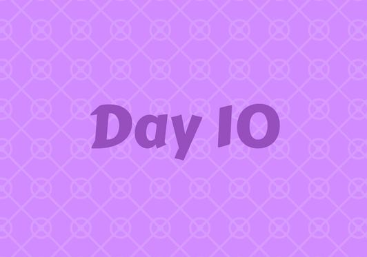 2017 Friends Advent Calendar – Day 10