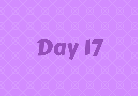 2017 Friends Advent Calendar – Day 17