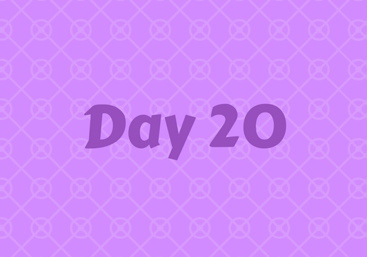 2017 Friends Advent Calendar – Day 20