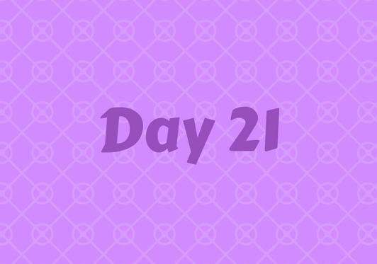 2017 Friends Advent Calendar – Day 21