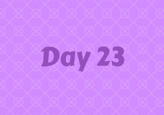2017 Friends Advent Calendar – Day 23