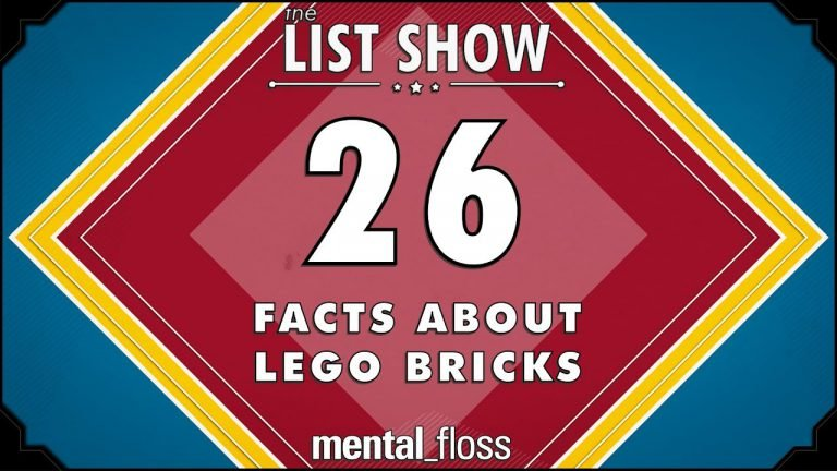 Mental Floss' 26 Facts About LEGO Bricks