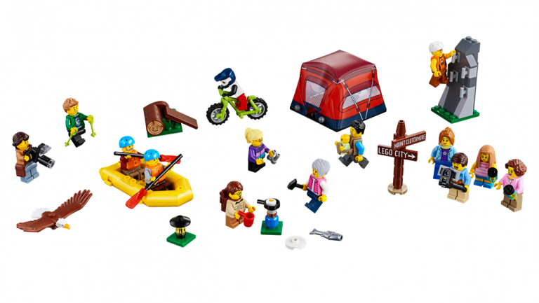 Sarajevo Certified LEGO Store Reveals Outdoor Adventures People Pack