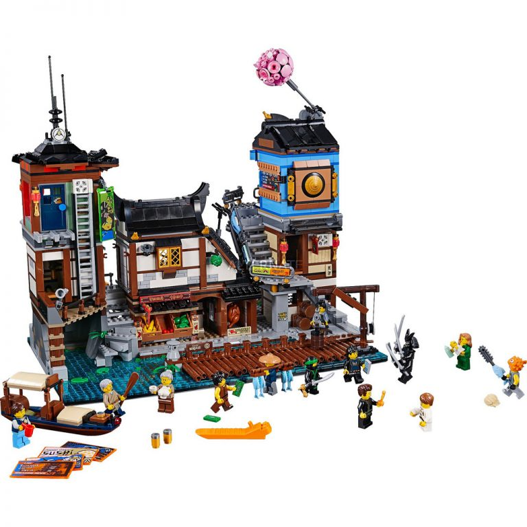 Ninjago City Docks photos