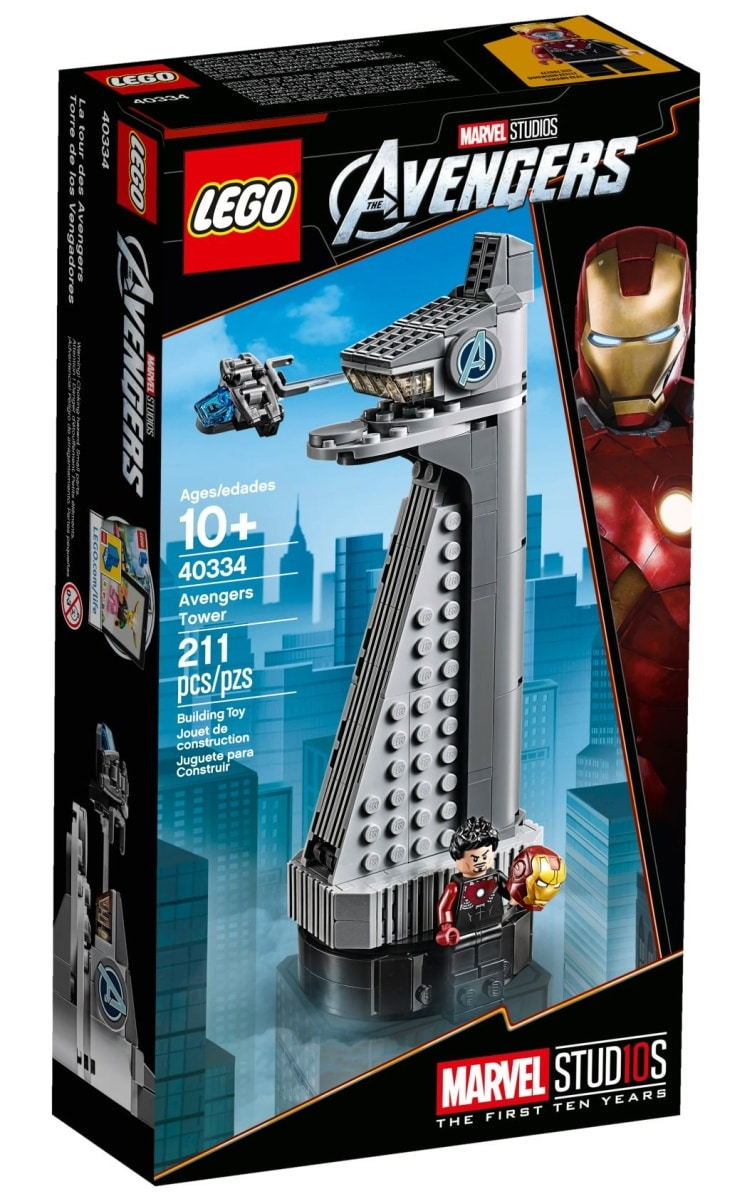 Official 40334 Avengers Tower Gift with Purchase Photos
