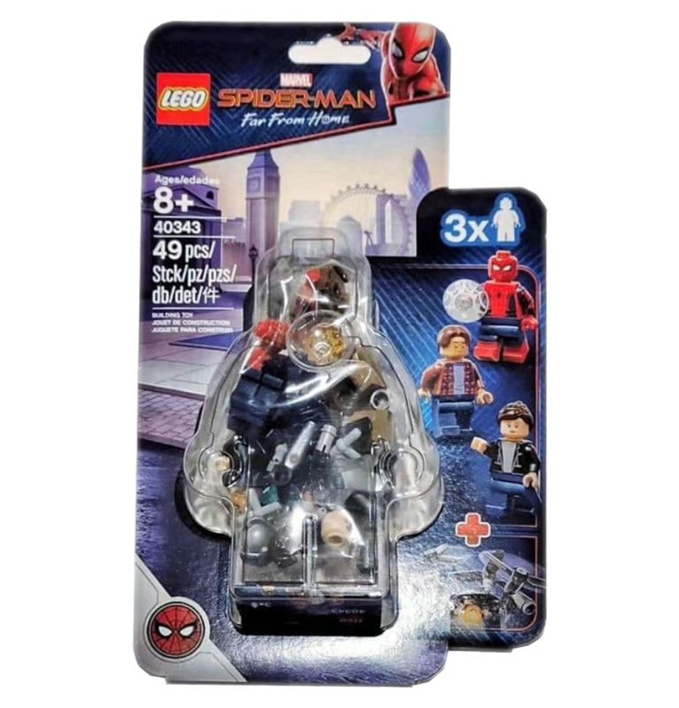 Spider-Man: Far From Home Minifigure Pack Coming Soon