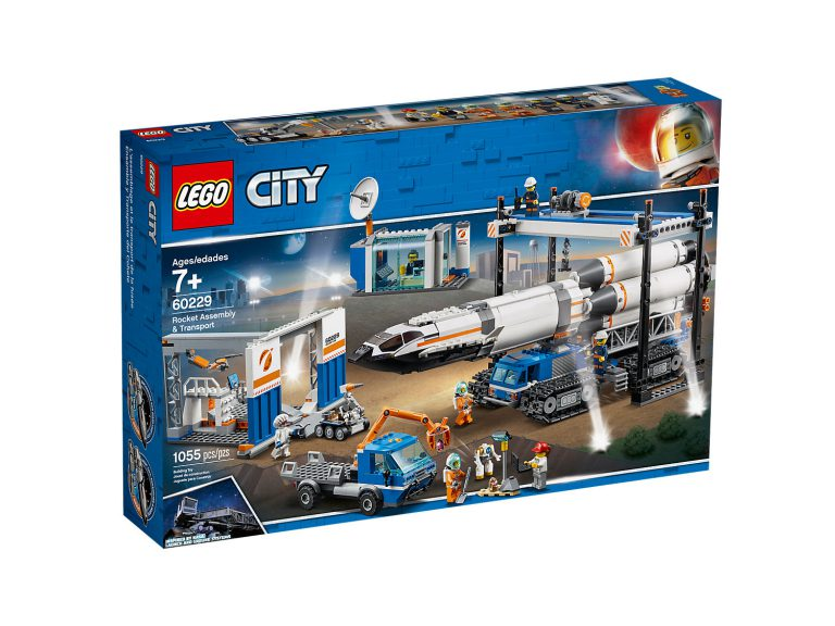 Full 2019 LEGO City Space Lineup Announced