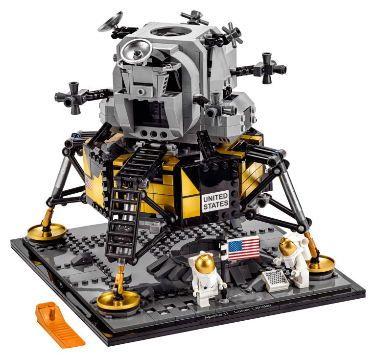 LEGO Launches Apollo 11 Lunar Lander