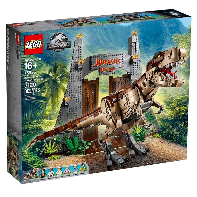 New Jurassic Park T. Rex Set Announced