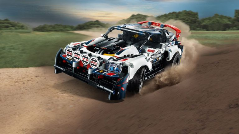 LEGO Partners with Top Gear to Produce Rally Car