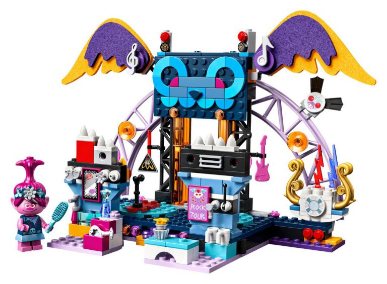 LEGO Trolls World Tour Set Pics & Details