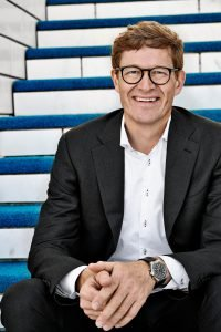 The LEGO Group CEO, Niels B. Christiansen